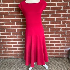 Dark pink Lands End dress